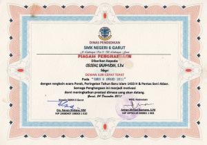 sertifikat 17.